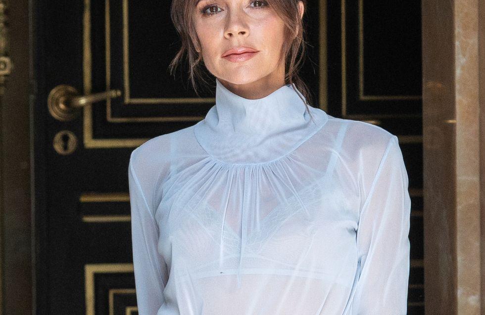 Victoria Beckham ose la combinaison en latex pour Vogue UK