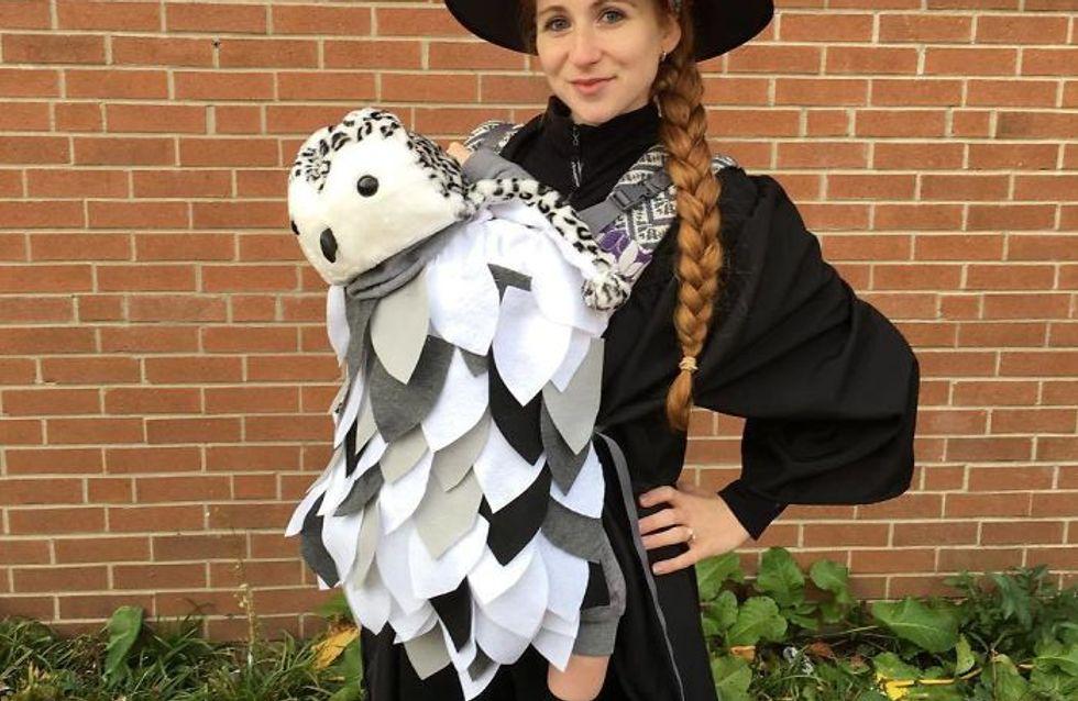Les meilleurs costumes d'Halloween avec un porte-bébé