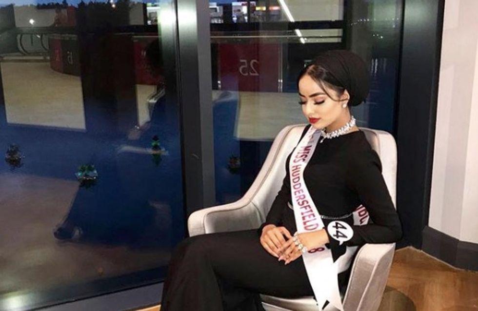Pour la première fois, une candidate voilée arrive en finale de Miss Angleterre (photos)