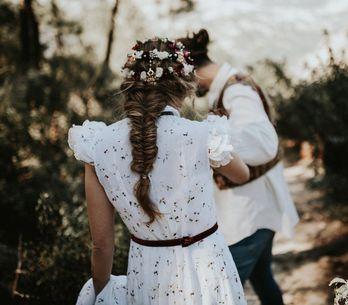 7 ideas de peinados con trenzas para novias