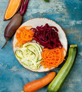 Perfekt für alle Low carb Fans: 4 geniale Rezepte für Gemüsenudeln