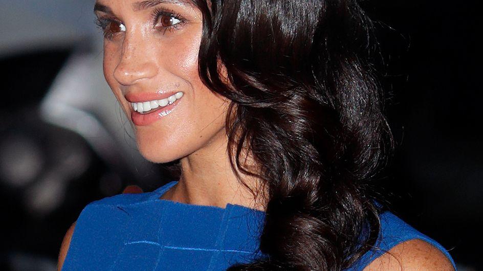 Meghan Markle, très chic, ose une toute nouvelle coiffure (Photos)