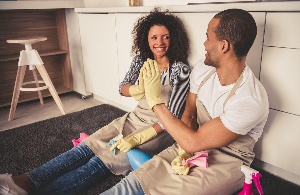 Une appli pour faire les comptes sur la répartition des tâches ménagères