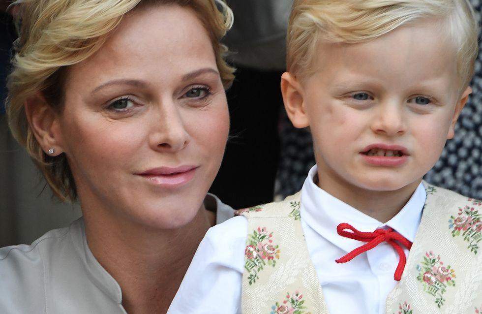 Charlène de Monaco dévoile une adorable photo de ses jumeaux pour la rentrée