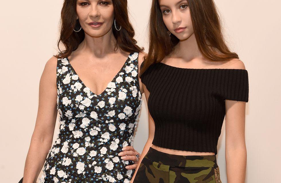 Catherine Zeta-Jones et Carys, duo mère-fille à la pointe du style !