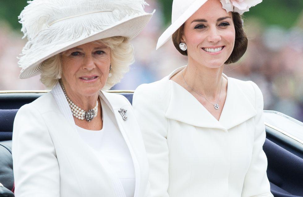"""""""Jolie mais faible"""", quand Camilla ne voulait pas de Kate Middleton dans la famille"""