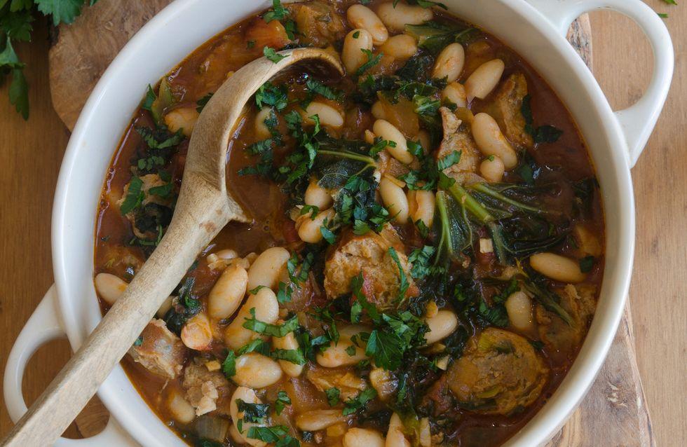3 recetas de judías blancas para los amantes de las legumbres