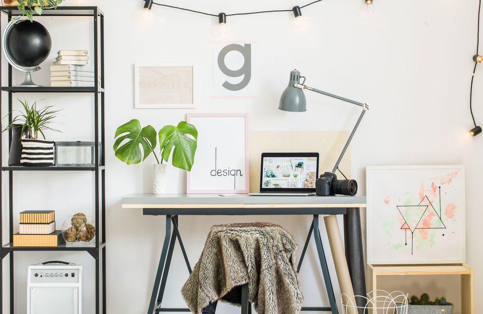 Arbeitszimmer einrichten: Mit diesen Tricks wird's Instagram-tauglich!