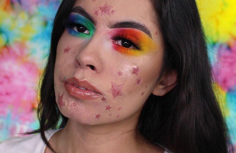 Elle transforme son acné en étoiles et c'est splendide ! (Photos)