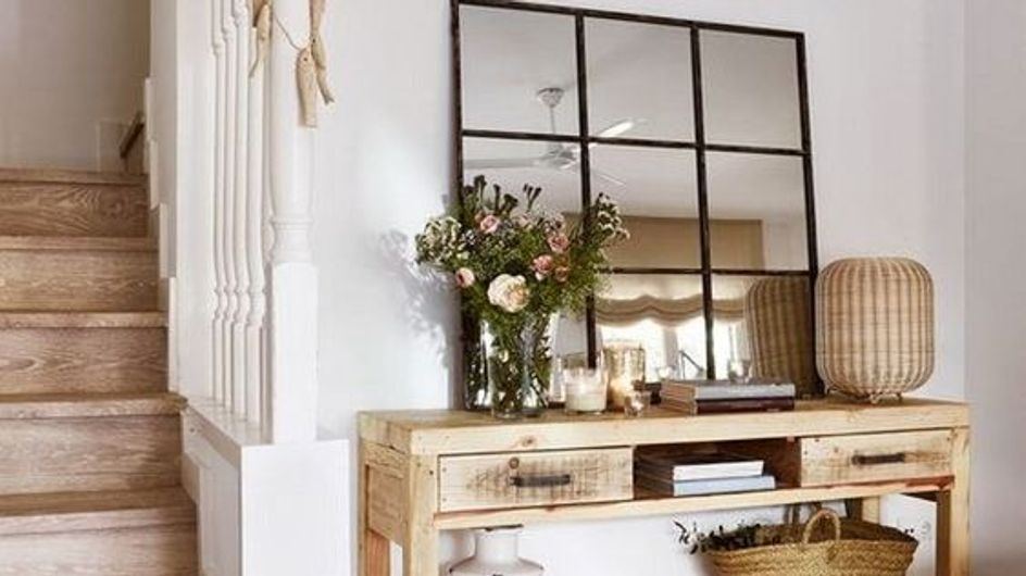 Consejos de decoración para conseguir el recibidor perfecto