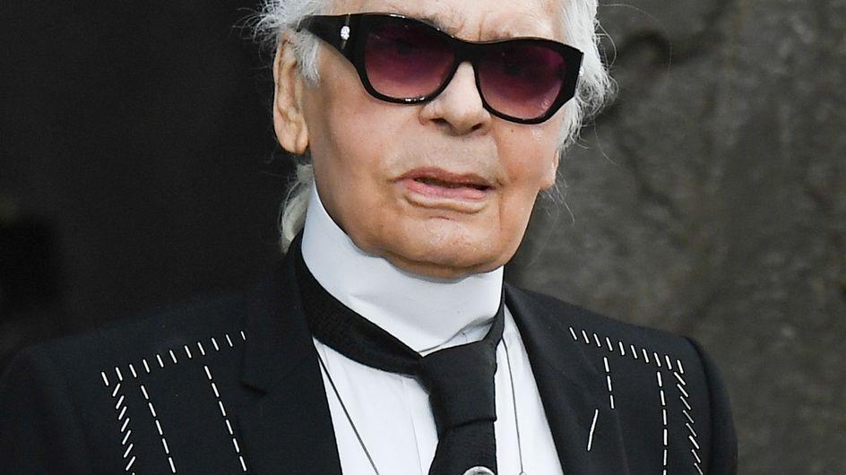 Incroyable ! Karl Lagerfeld a abandonné ses lunettes de soleil