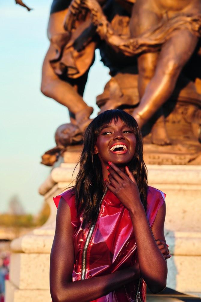 Duckie Thot nouvelle égérie engagée de L'Oréal Paris