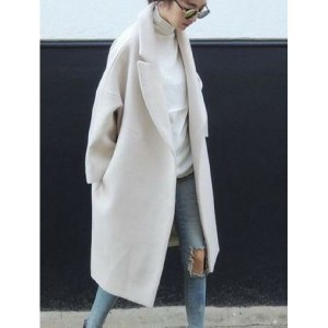 Giacca lana bianca