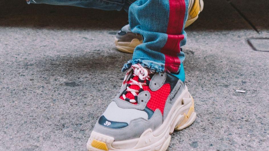 Chunky sneakers: la nueva tendencia que arrasa en el street style