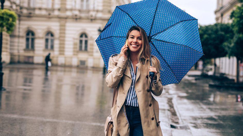 Protégete de la lluvia con los paraguas más bonitos de esta temporada