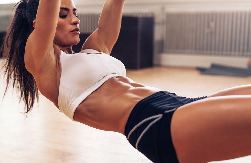 corps sportif femme