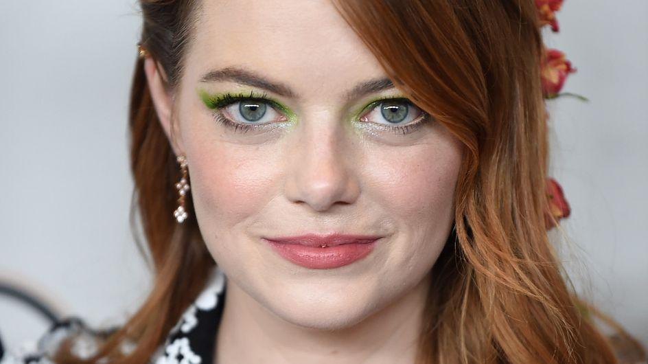 Cette coiffure d'Emma Stone est encore plus splendide vue de dos (Photos)