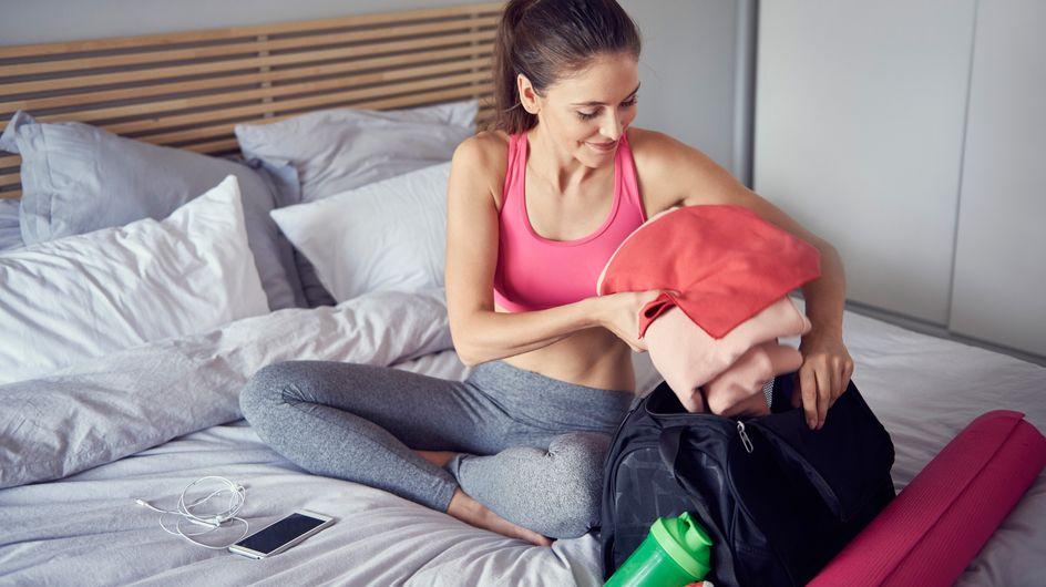 Qué llevar al gimnasio: 5 trucos para preparar tu bolsa