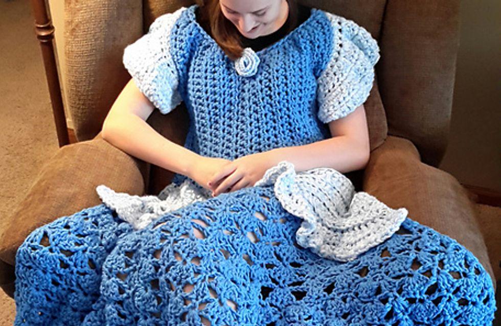 Alerte ! Il existe désormais des couvertures en forme de robe de princesse Disney