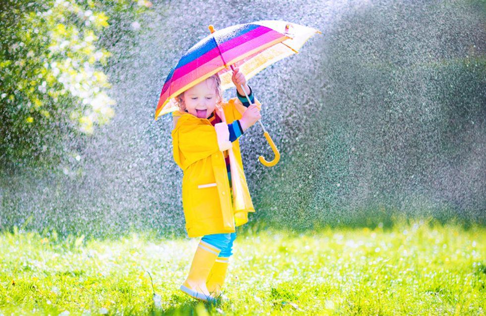 ¡Que llueva, que llueva! 10 paraguas adorables para los más pequeños