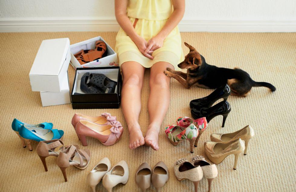 Los accesorios perfectos para organizar tus zapatos a la perfección