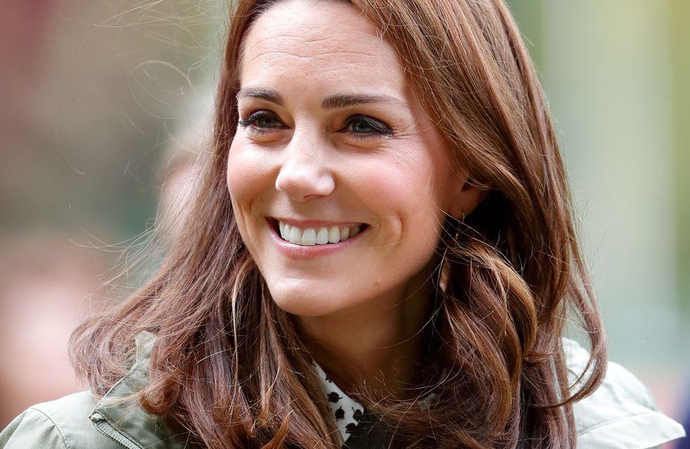 L'adorable phrase de Kate Middleton à une fillette qui s'étonne de voir des photographes