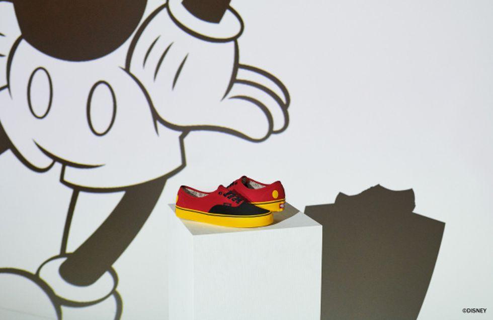 Vans sort une collection Disney pour les 90 ans de Mickey et on veut tout acheter !