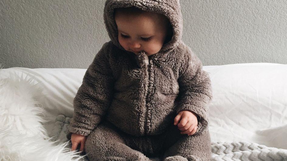 Le più carine tutine invernali per i bebè