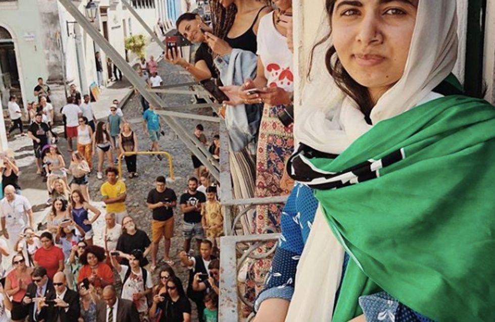 Malala Yousafzai pose pour Vogue et c'est une grande première !