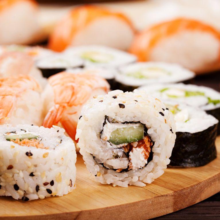 El sushi es bueno para la dieta