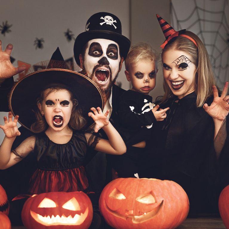 colori delicati outlet colore attraente Costumi di Halloween per tutta la famiglia