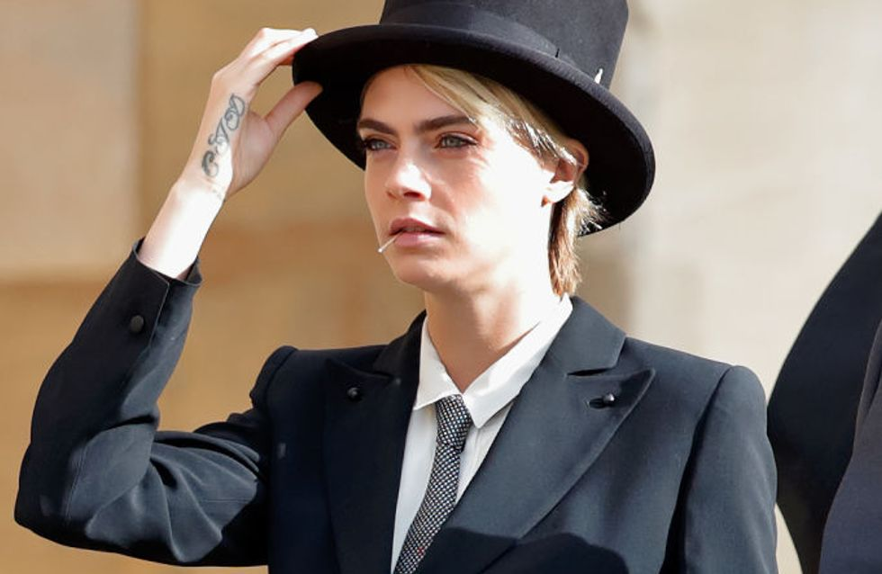 Cara Delevingne en smoking au mariage de la princesse Eugenie, a-t-elle brisé le protocole ?