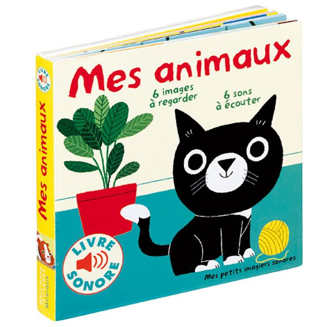 Livre sonore Mes animaux