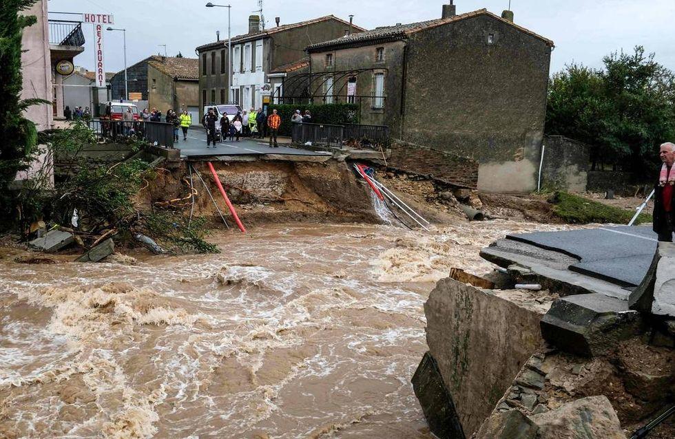 Inondations dans l'Aude, le bilan s'élève à 13 morts