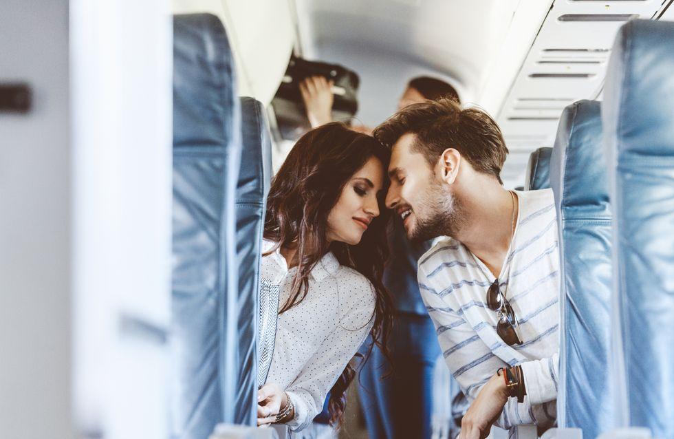 Une personne sur 50 rencontre l'amour dans un avion
