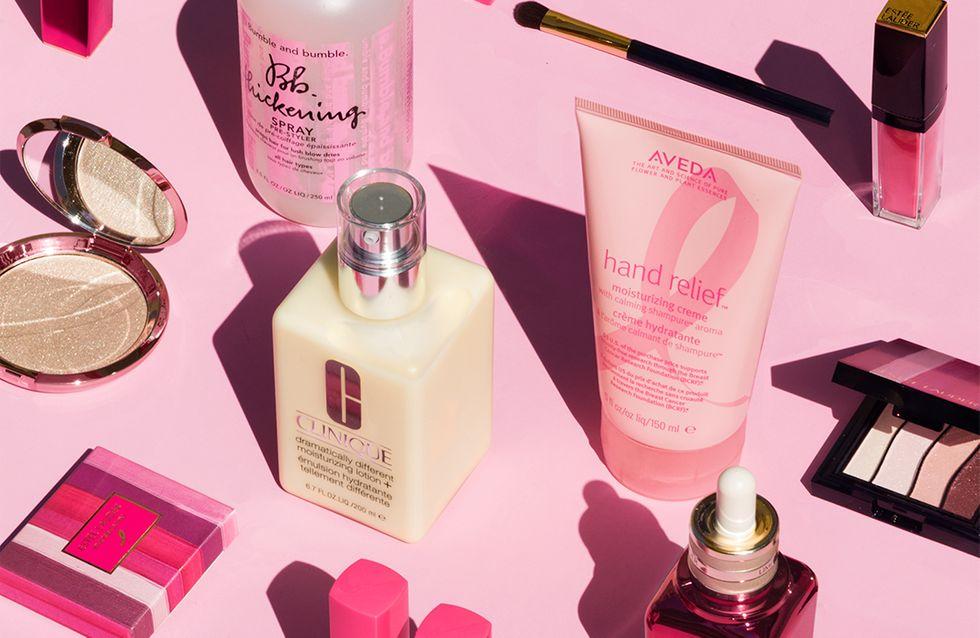 10 compras de belleza con las que ayudarás a luchar contra el cáncer de mama