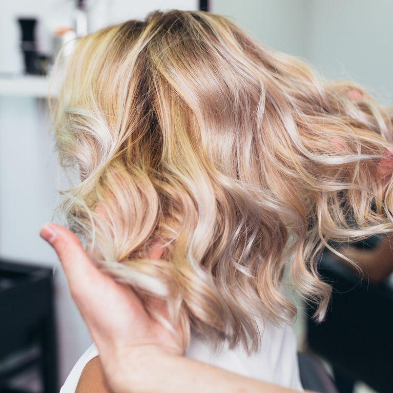 Haarfarben hellblond