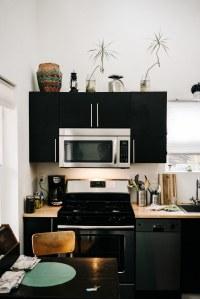 Et si vous optiez pour une cuisine noire ?