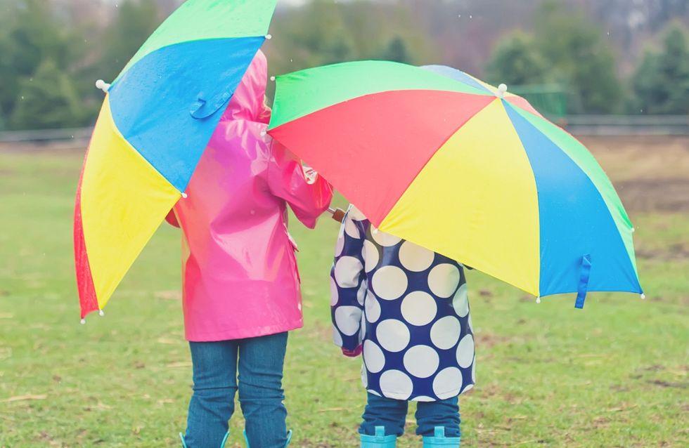 5 adorabili ombrelli per bambini