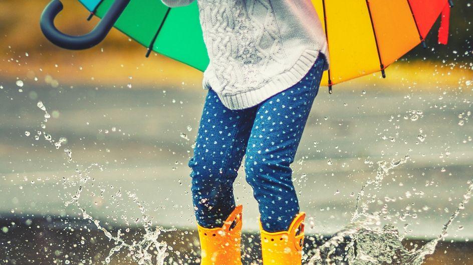 Splish Splash: Mit diesen Gummistiefeln bleiben Kinderfüße trocken