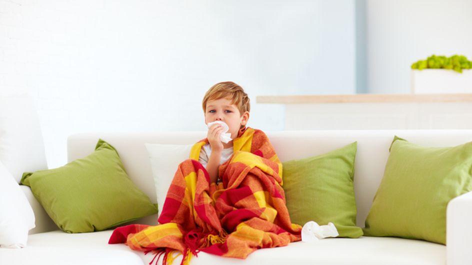Cómo prevenir el resfriado en niños: consejos y productos especiales