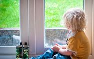 Wenn's draußen regnet: 5 Ideen, damit dir mit Baby nicht die Decke auf den Kopf