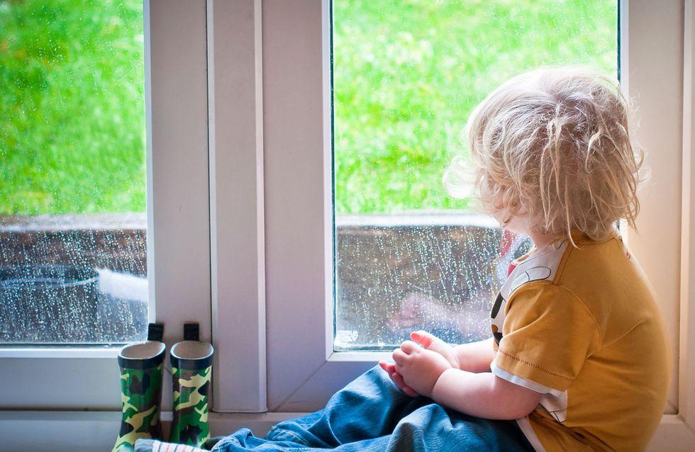 Wenn's draußen regnet: 5 Ideen, damit dir mit Baby nicht die Decke auf den Kopf fällt