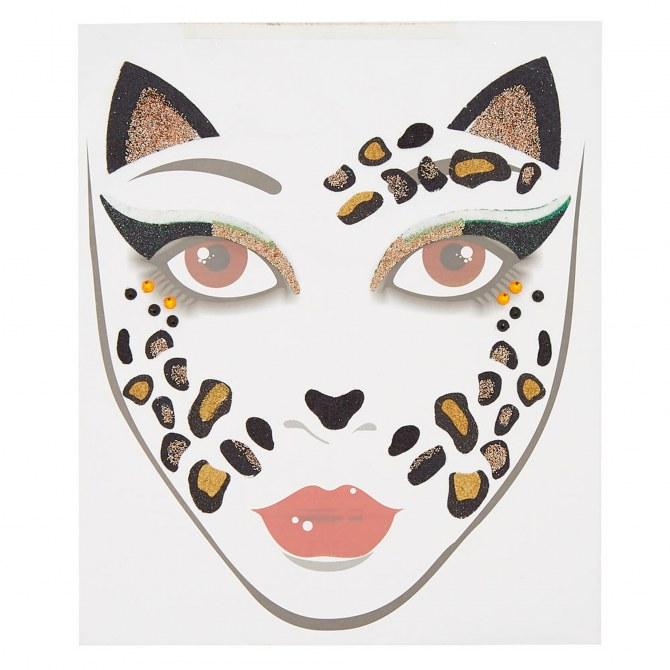 Stickers chat pour le visage, Claire's - 3,59€