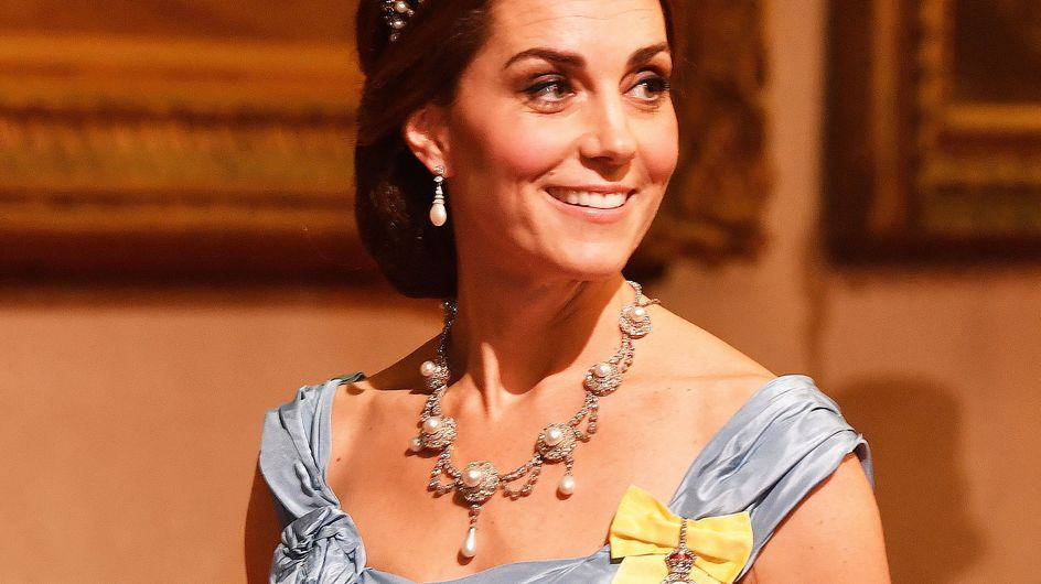Avec la tiare de Diana sur la tête, Kate Middleton fait sensation