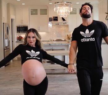 La chorégraphie de cette maman enceinte de triplés va vous faire sourire ! (vidé