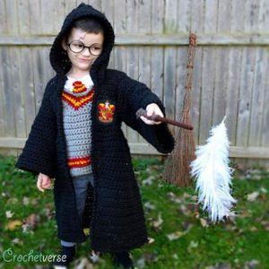 Costume Harry Potter en crochet
