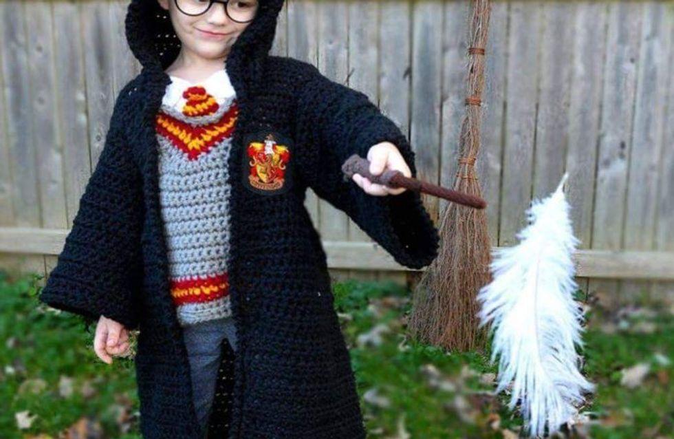 Cette maman crée des costumes d'Halloween au crochet pour ses fils et c'est vraiment original