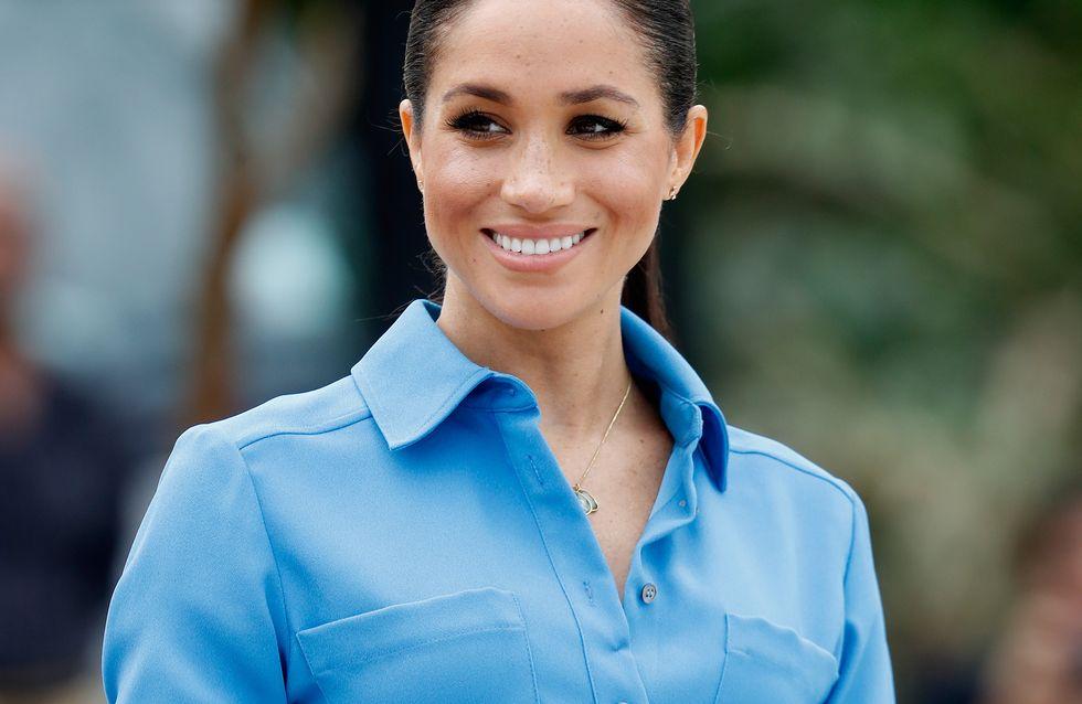 Meghan Markle ose la robe en tulle et on dirait une vraie princesse !