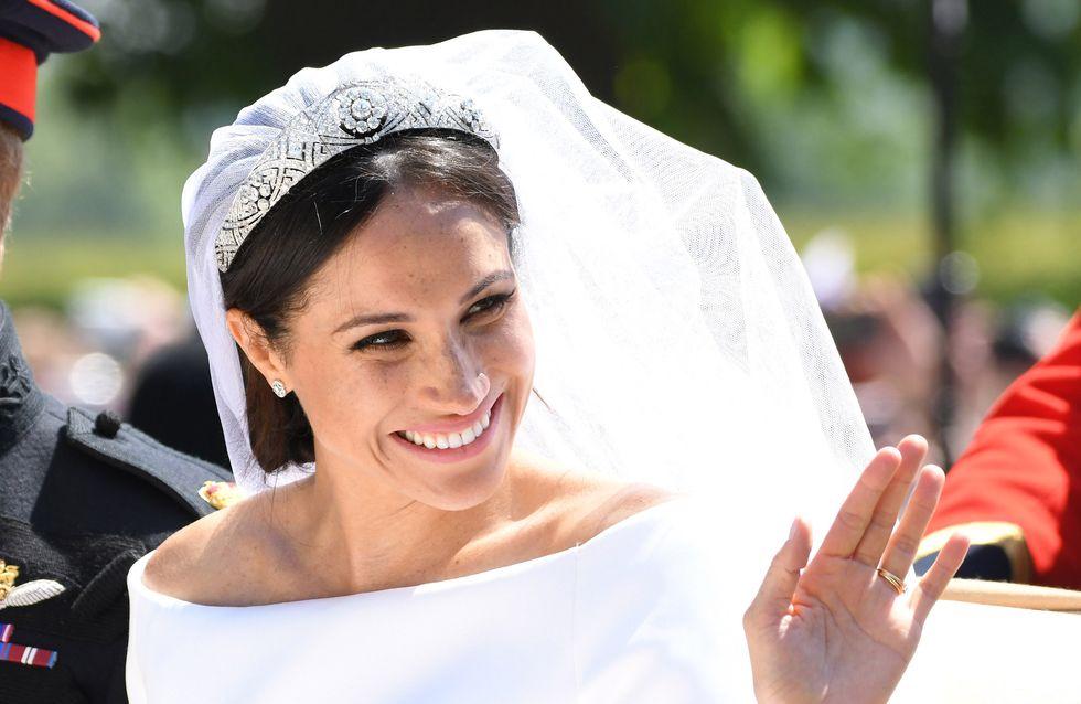 Meghan Markle raconte comment elle a choisi sa tiare de mariage et c'est digne d'un conte de fée